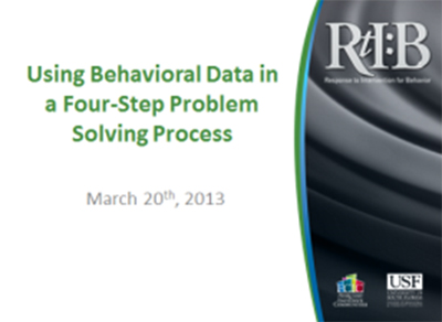 Using Behavioral Data...cover image