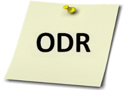 "Note with ""ODR"""